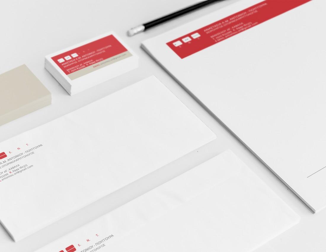 Antoniou Tasoula Corporate Identity