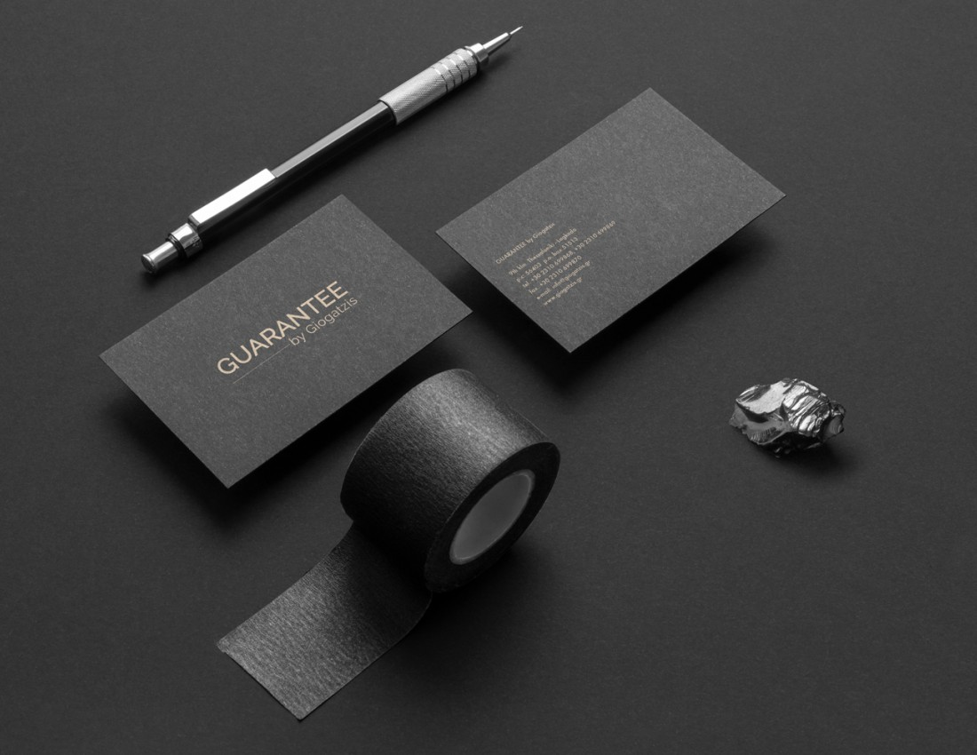 Guarantee by Giogatzis Brand Identity