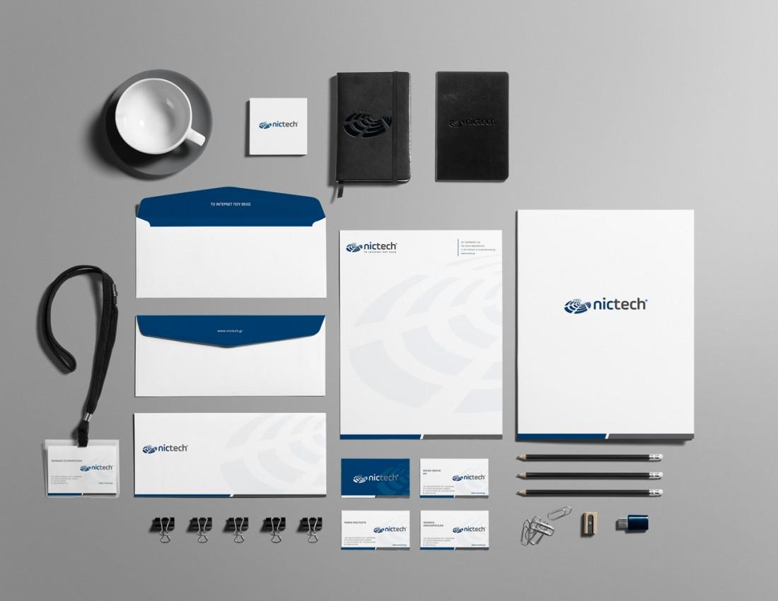 Nictech Brand Identity 1